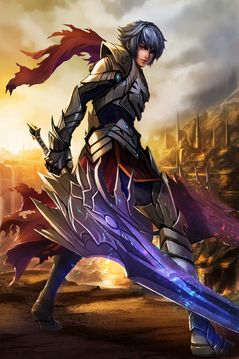 Anime Characters Katana : Sword master by chaosringen on deviantart