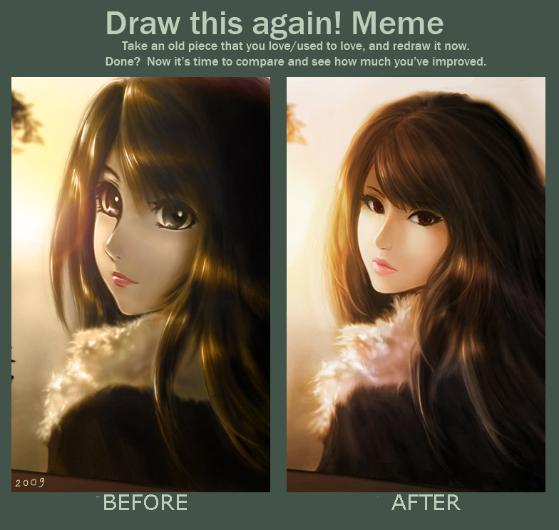 Before and After Meme by chaosringen on DeviantArt