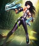 Sci-fi Gunner - enhanced version