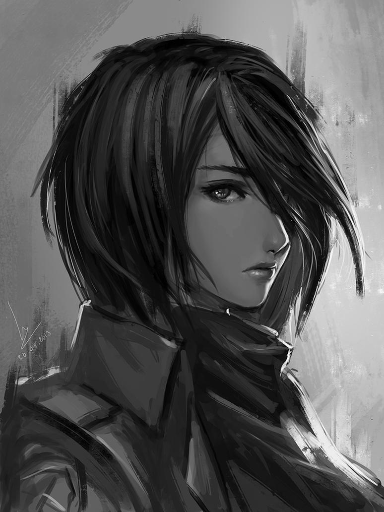 Mikasa By Chaosringen On DeviantArt