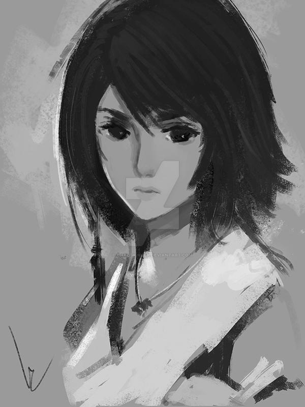 Yuna by chaosringen