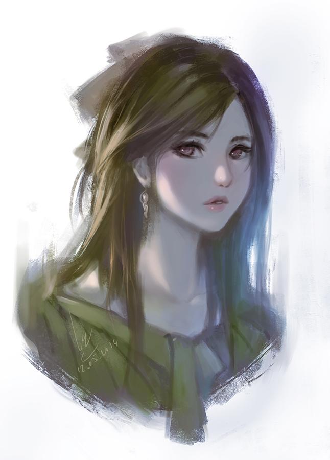 Doodle girl 7 by chaosringen