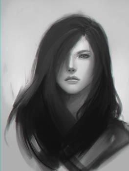 Doodle girl 10