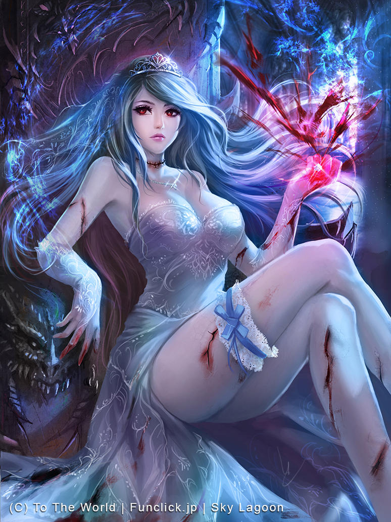 Vampire Blood Bride by chaosringen