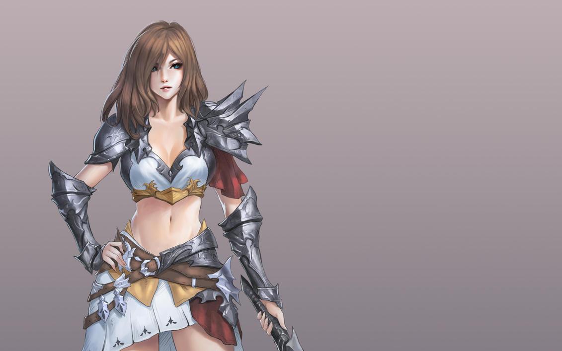 Girl n' sword by chaosringen