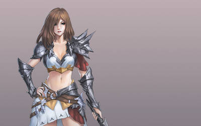 Girl n' sword