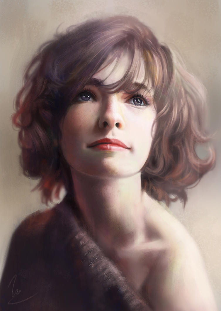 Portrait Study. by chaosringen
