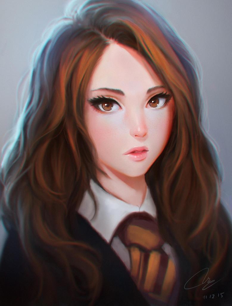 Hermione by chaosringen