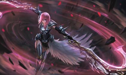 Lightning from FFXIII-2 by chaosringen