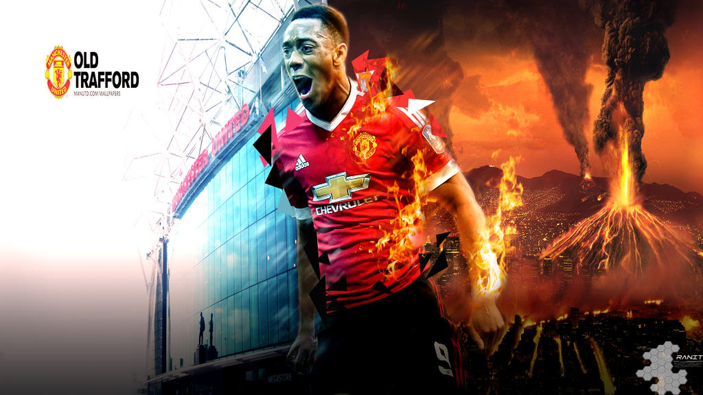 Anthony Martial Wallpaper By Ropn1996 On DeviantArt