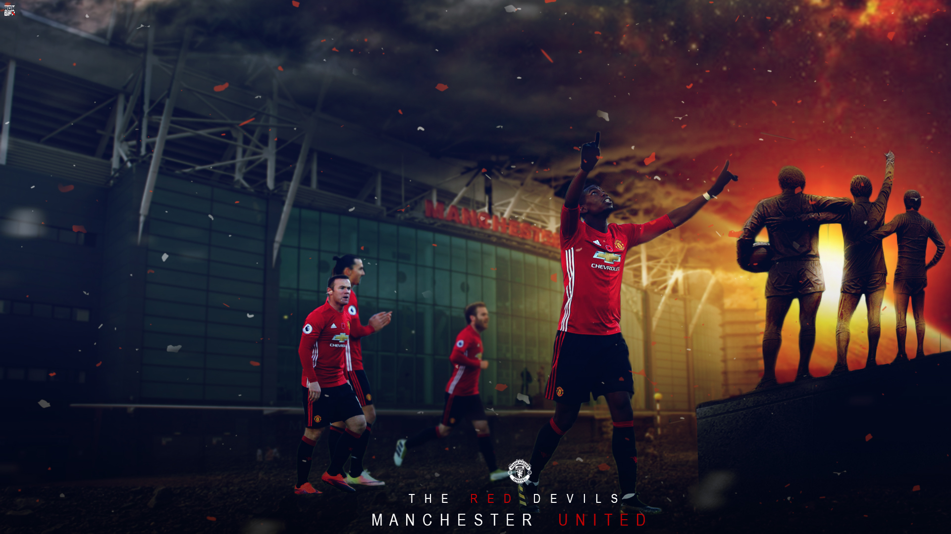 Manchester United Desktop Wallpaper By Ropn1996 On Deviantart