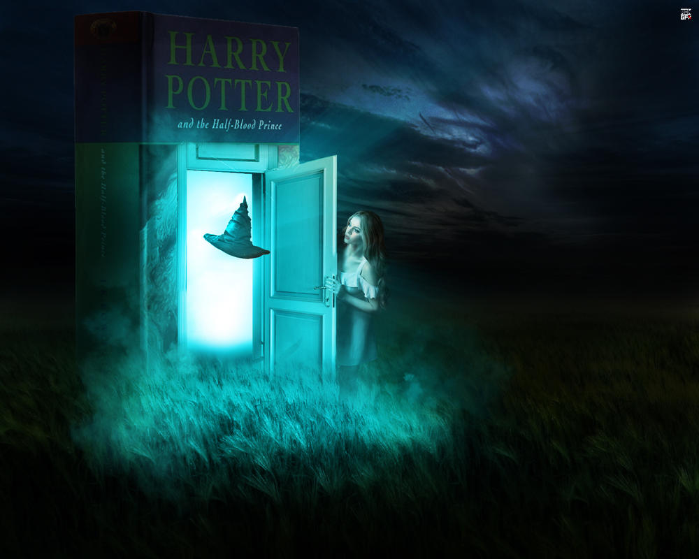 Fantasy Harry Potter Wallpaper by Ropn1996
