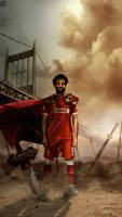 Mohamed Salah Liverpool lock screen/wallpaper 2017