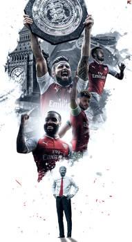 Arsenal Community shield 2017 HD wallpaper