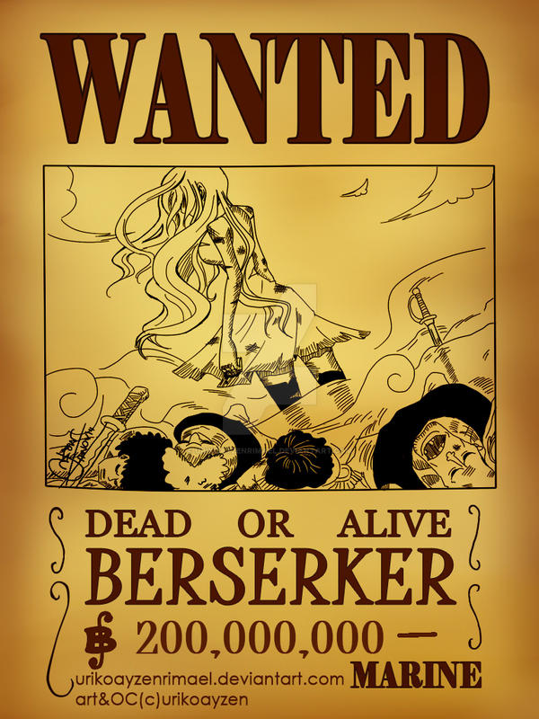 One Piece Wanted Poster Ace
