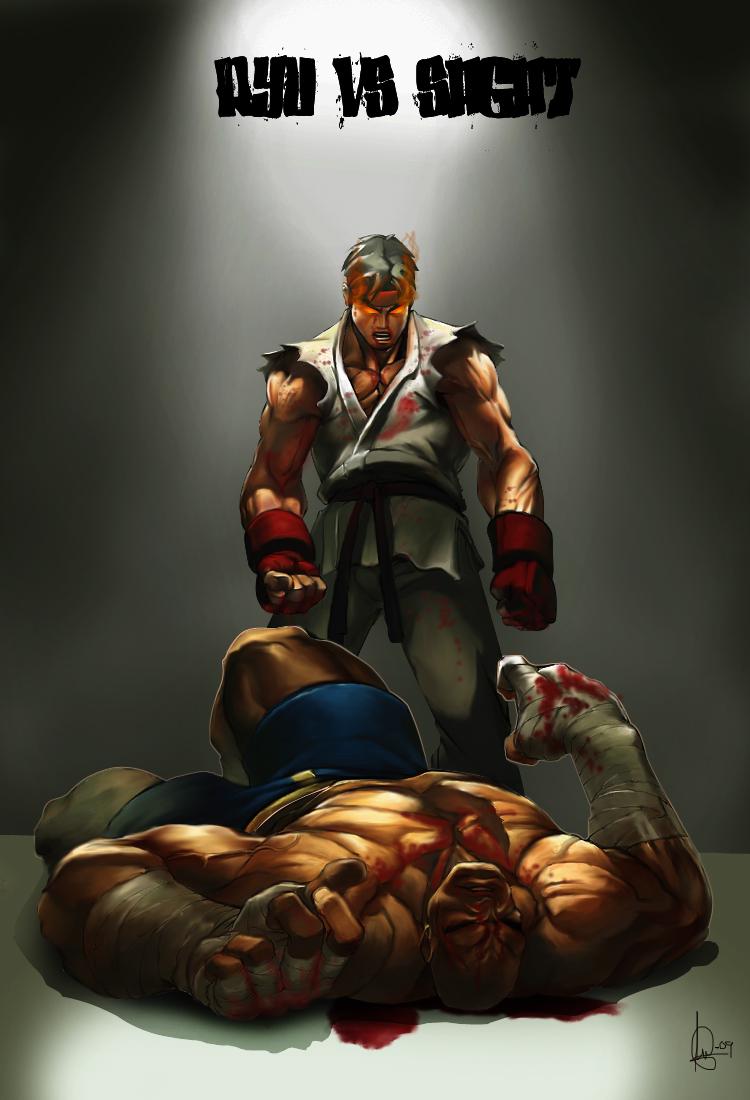 Fatality ... Ryu vs Sagat by ShKDraG