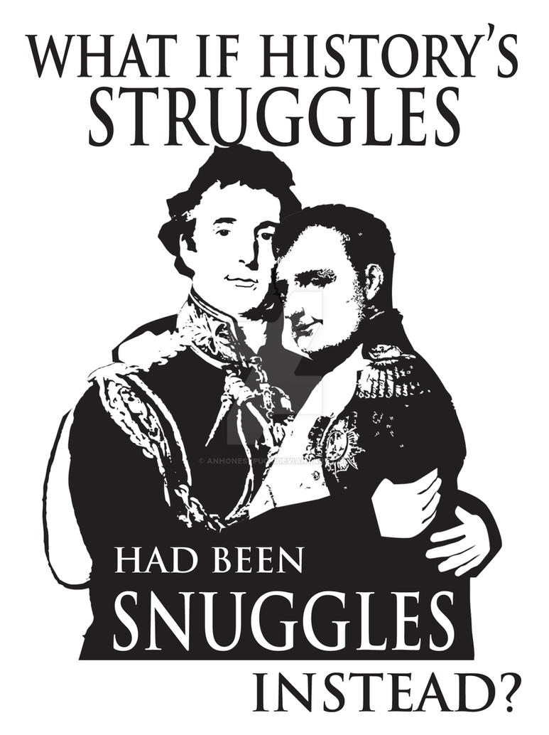 Snuggles by anhonestpuck