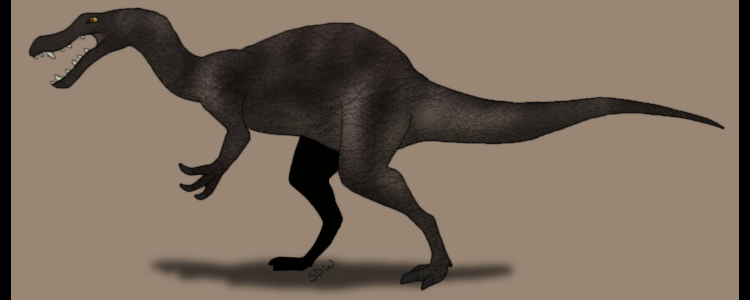 Suchosaurus by shadowwolf-4