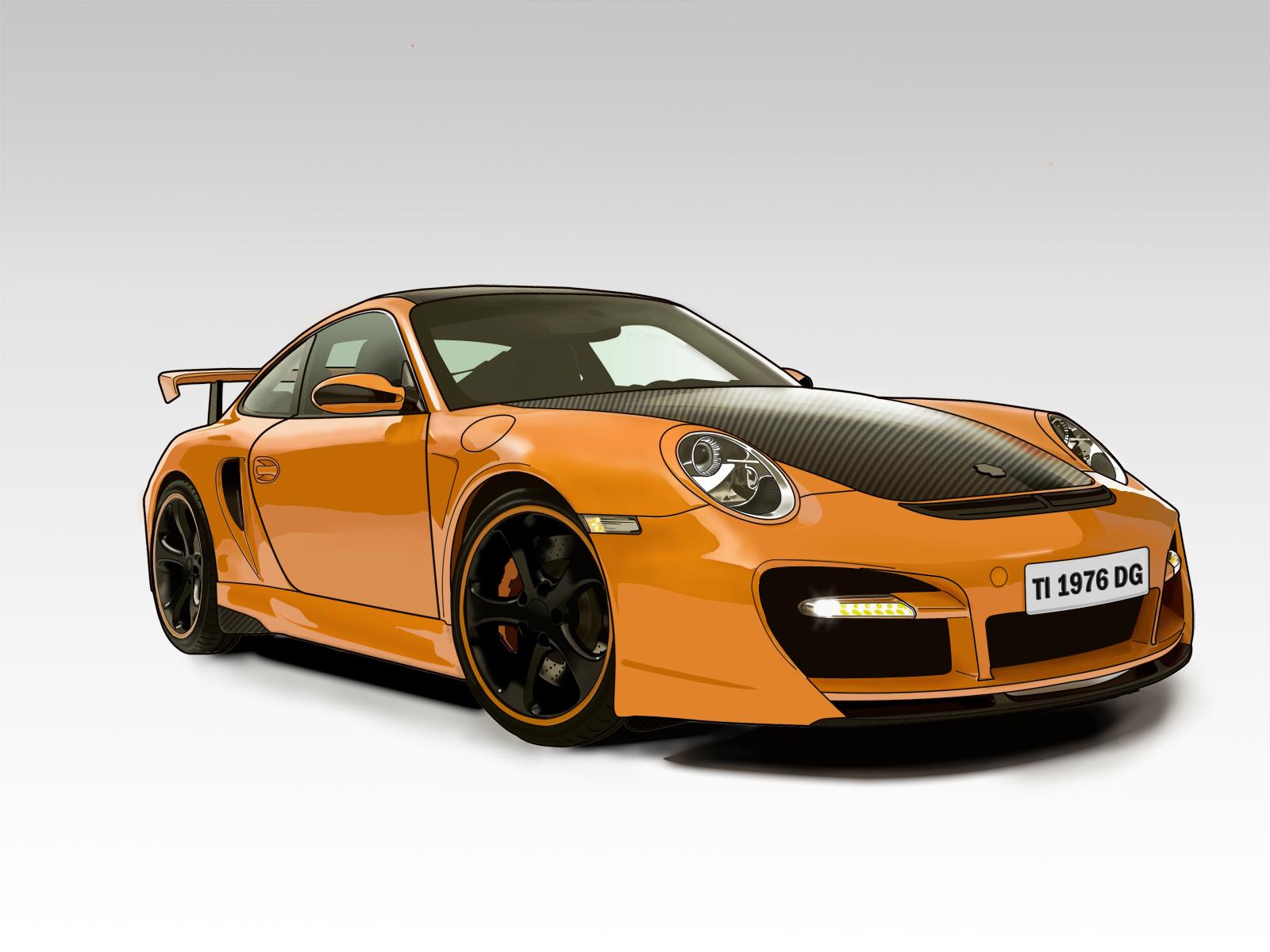Porsche 911 GT by DottGonzo