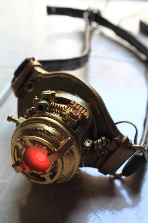 Steampunk eye patch craft by chiaku on deviantart for Steampunk arts and crafts