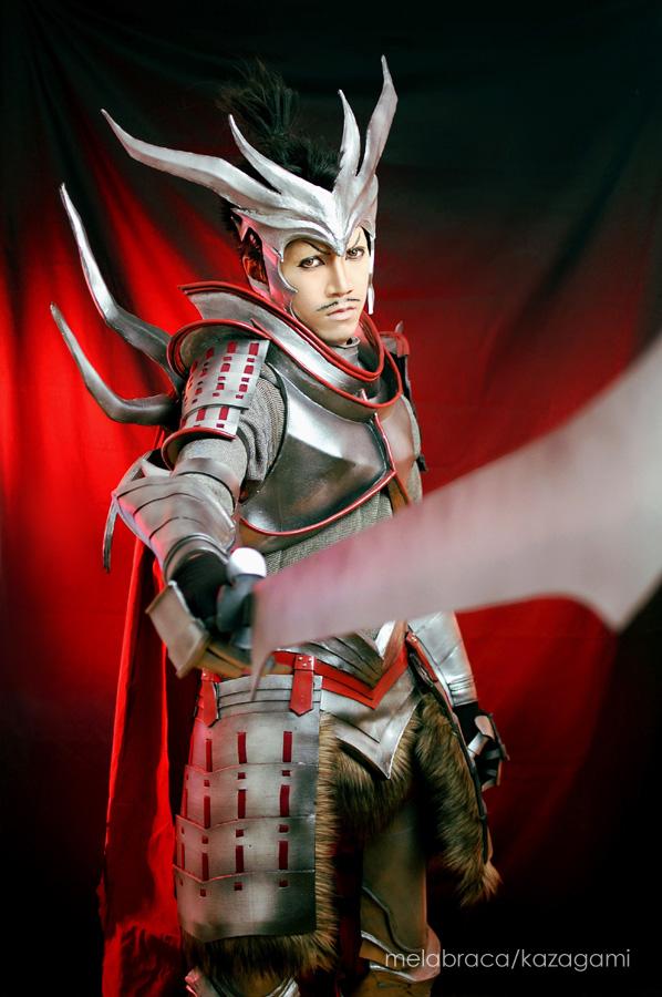 Sengoku Basara: Oda Nobunaga Cosplay by chiaku