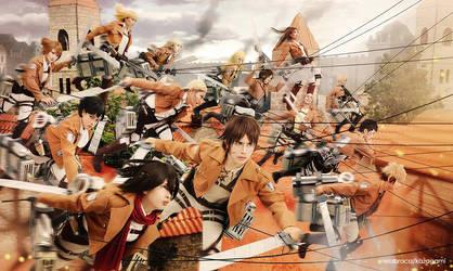 Shingeki no Kyojin Cosplay