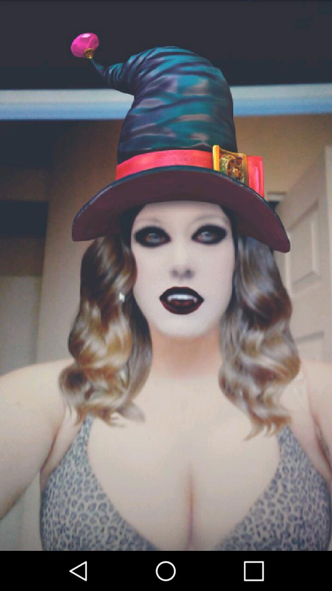 Halloween Snapchat tg by lauren2hot