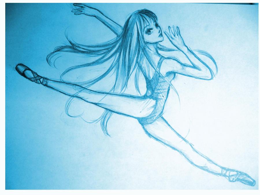 Blue Pointe Ballet Shoe