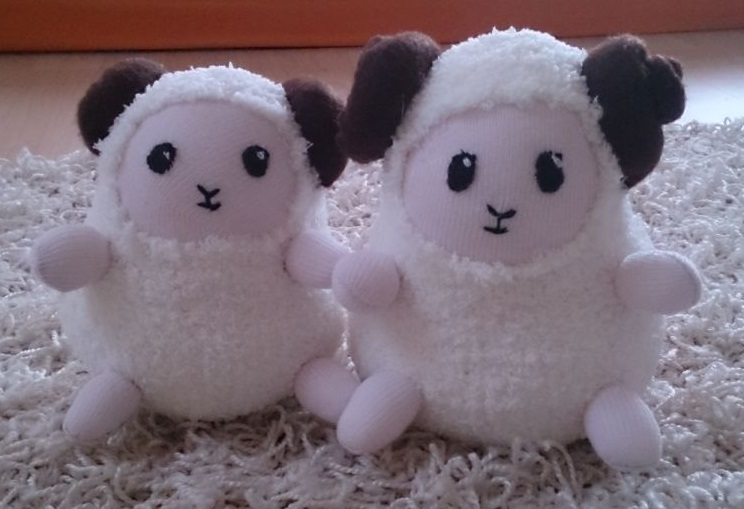 Plushies - Sheeps by roter-Mondschein
