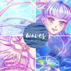 PREVIEW: Waves Artbook- Jellyfish by Luna-rii