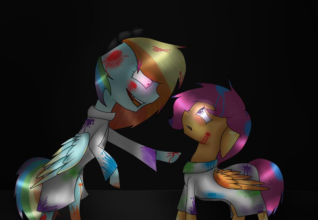Rainbine In The Pegasus Device (RainBow Factory) By