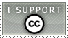 Support Creative commons stamp by engine-kyo