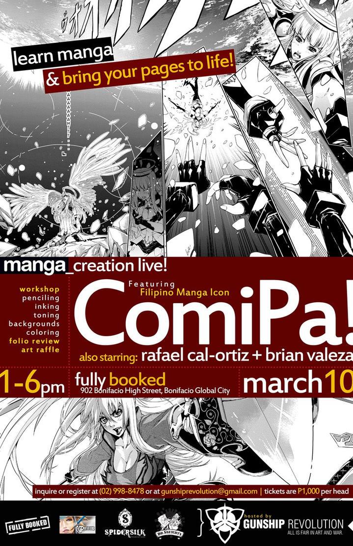 Manga_Creation Live! by kumameki10