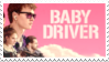 [stamp] baby driver by simonthewhale