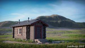 Wilderness hut by JohnWulffe