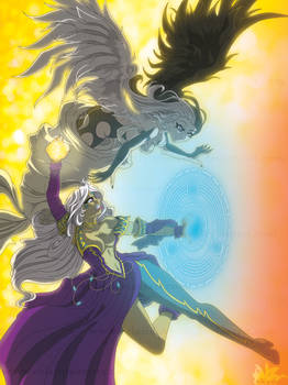 URD and her angel