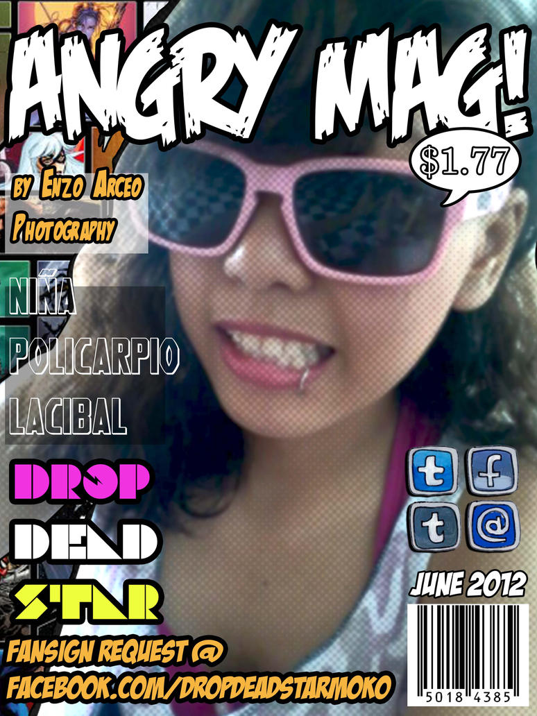 Angry Mag June Issue by CarlosElric