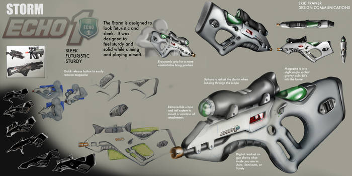 Echo 1 Airsoft Assault Rifle