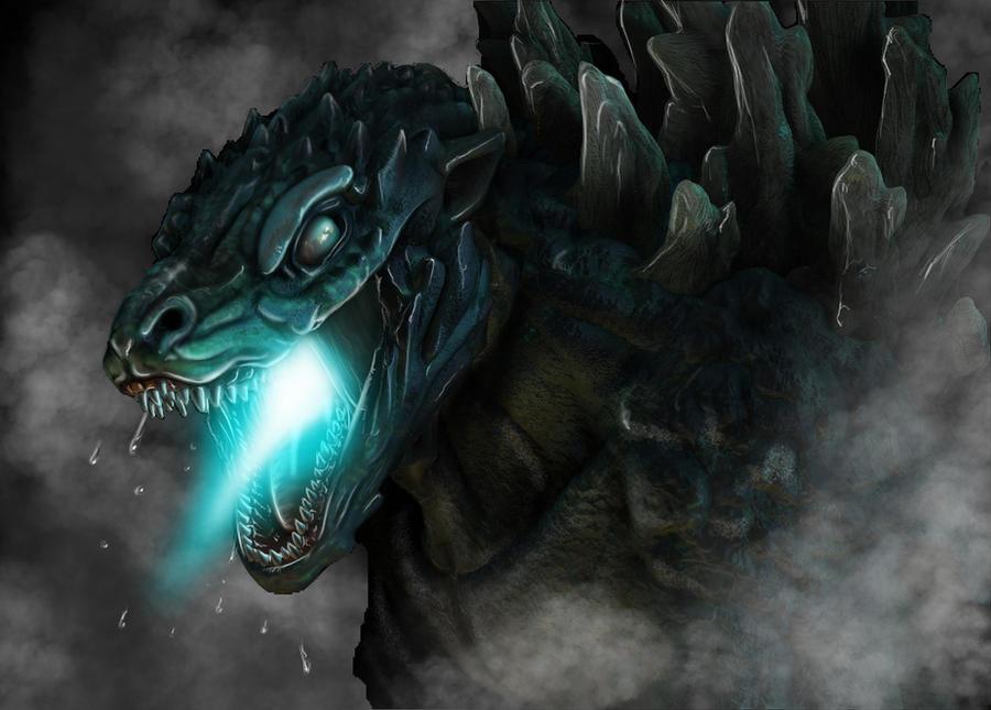 Godzilla Redesign by franeres