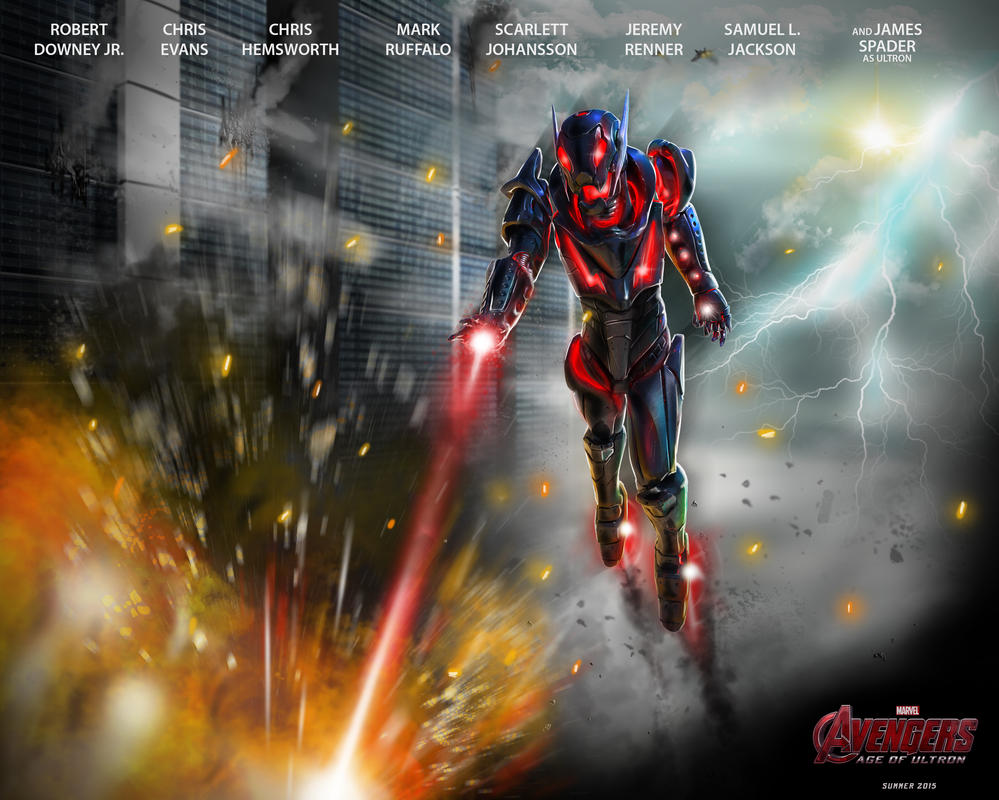 Avengers Age Of Ultron By Iloegbunam On Deviantart: The Avengers Age Of Ultron Poster By Franeres On DeviantArt