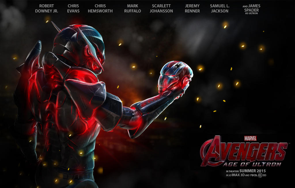 Avengers Age Of Ultron By Iloegbunam On Deviantart: Avengers 2 The Age Of Ultron Teaser Poster By Franeres On