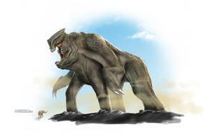 Elephant Kaiju Concept by franeres