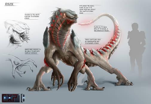 Rynyx Creature Concept Sheet