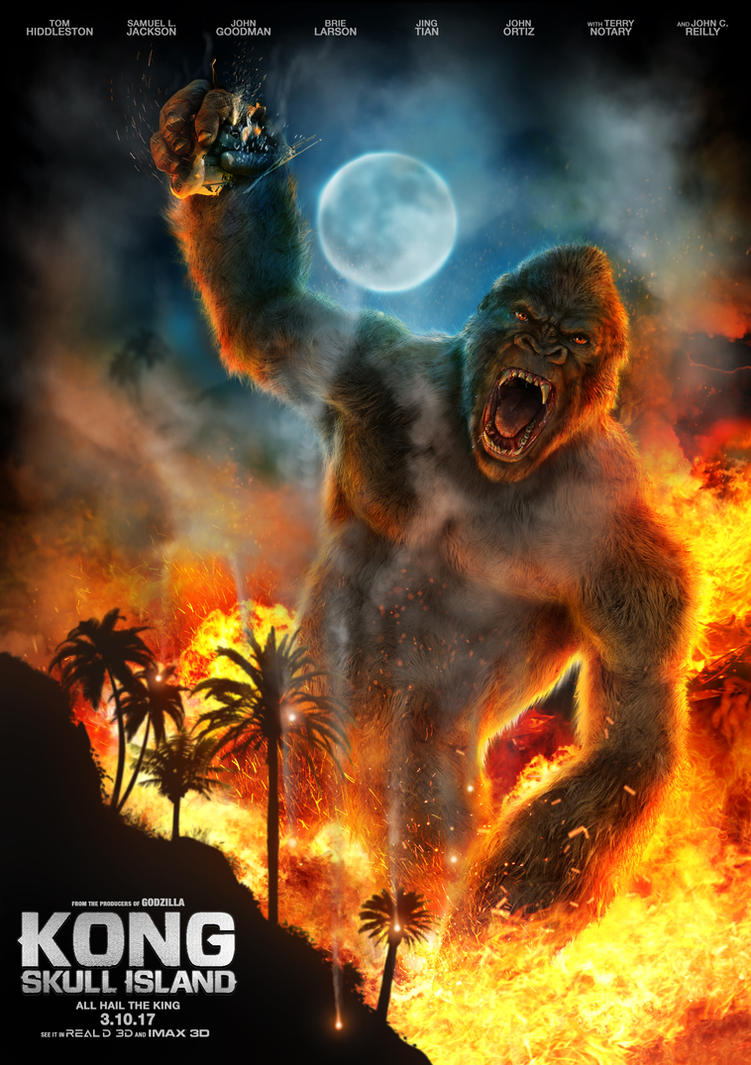 Kong Skull Island Poster Design Contest by franeres