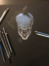 Pennywise Prismacolor (work in progress)