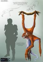 Coleobrizi Creature Concept Sheet by franeres