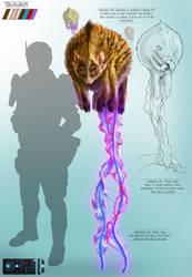 Taugans Creature Concept Sheet