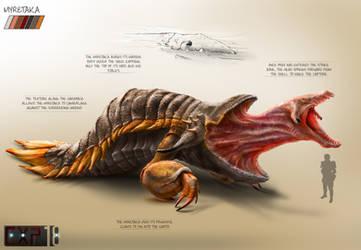 Myretaka Creature Concept Sheet