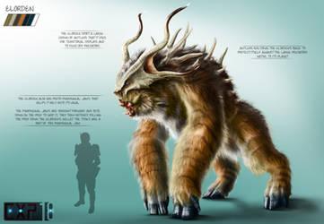 Elorden Creature Concept Sheet