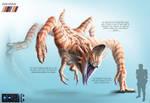 Mukunga Creature Concept Sheet